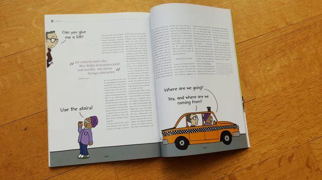 Woody Allen Cartoon Zeitschrift Pardon