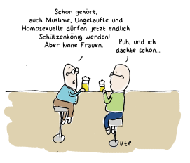 cartoon-schuetzenkoenig-ute-hamelmann