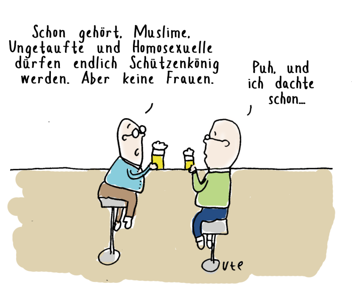 cartoon-ute-hamelmann-schuetzenkoenig-muslim-homosexueller