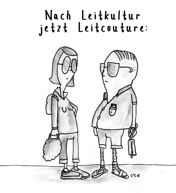 Cartoon Leitkultur