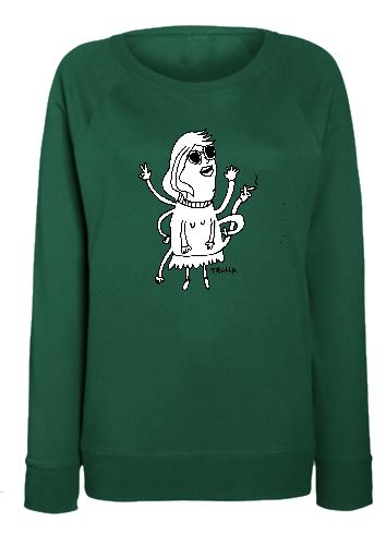 Tralla Berlin Cartoon Sweatshirts